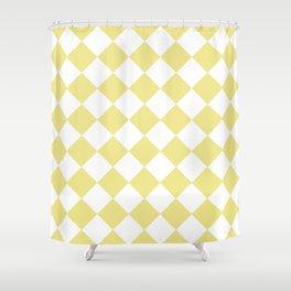 HARLEQUIN (KHAKI & WHITE) Shower Curtain