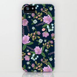 Golightly Flowers iPhone Case