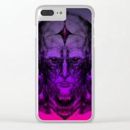 - D E K R A M - Clear iPhone Case