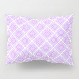 Electric Violet Interlock Pattern Pillow Sham