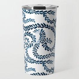 Mexican Talavera inspired pattern Travel Mug