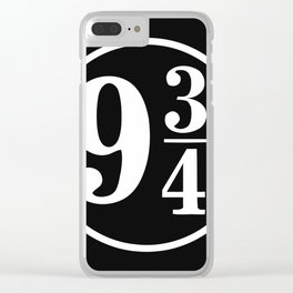 9 ¾ Clear iPhone Case