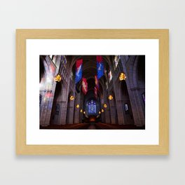 Princeton University Chapel Framed Art Print