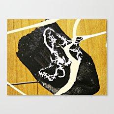 Tar Puddle Canvas Print