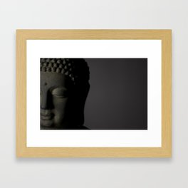 Buddha portrait Framed Art Print
