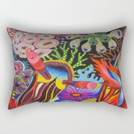 """Friends"" Nudibranch I Rectangular Pillow"
