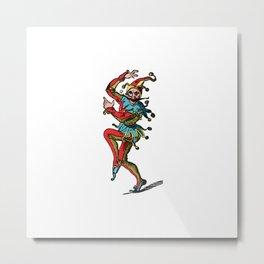 Jester2 Metal Print