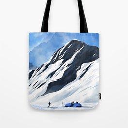 Mountain Camp Tote Bag
