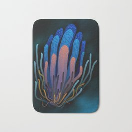 Blue Seaweed in Silence #underthesea #quiet Bath Mat