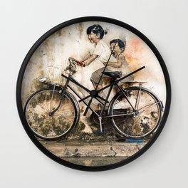 Reflections of Penang Wall Clock