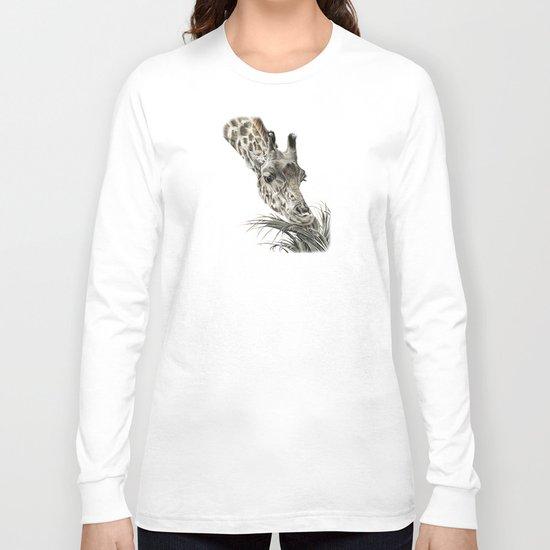 Giraffe - A Long Munch Long Sleeve T-shirt