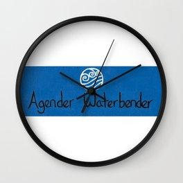 Agender (water) Wall Clock
