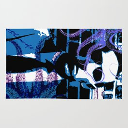 H. P. Lovecraft Poster Rug
