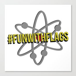 #FunWithFlags  Canvas Print