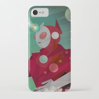 superheroes iPhone & iPod Cases featuring Superheroes SF by Scott Balmer