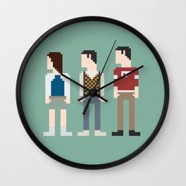Ferris Bueller 8-Bit Wall Clock