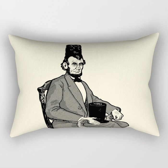 Hat Head Rectangular Pillow