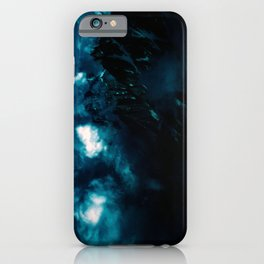 RUN before the DARKNESS gets YOU - Dark Sky/Clouds in the Mountains #2 iPhone Case