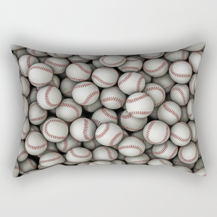 Baseballs Rectangular Pillow