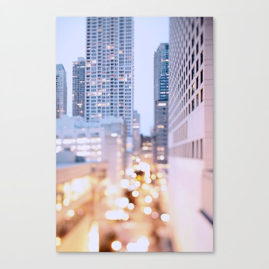 Pastel Nights Canvas Print