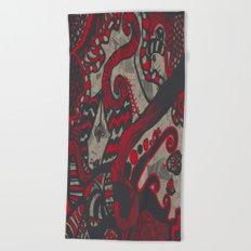 Doodle 4 Beach Towel