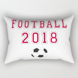 Football 2018 Rectangular Pillow