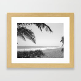"""Welcome to Ft. Lauderdale Beach"" Framed Art Print"