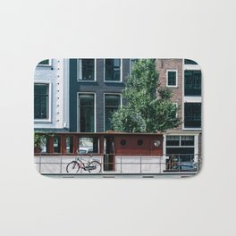 A Day in Amsterdam Bath Mat