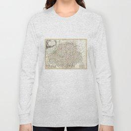 Vintage Map of Switzerland (1771) Long Sleeve T-shirt