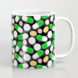 Deadly Pills Pattern Coffee Mug