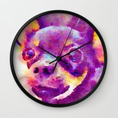 Lizzy (Chihuahua) Wall Clock