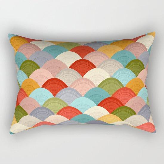 yarn hill dollops summer Rectangular Pillow