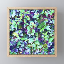 Magical, Fantasy Fairytale Forest Colorful Leaves Framed Mini Art Print
