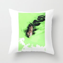 Pantheras tigris x1 Throw Pillow