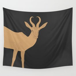 All lines lead to the...Inverted Springbok Wall Tapestry