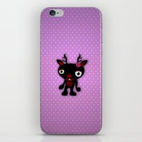 minnie iPhone & iPod Skins featuring Minnie by Karen Strempel