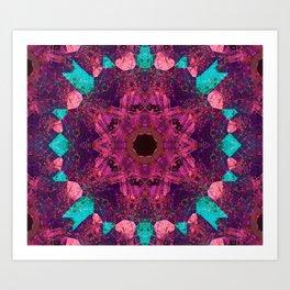 Mandala BsAs Art Print