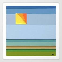 """Moment #13"" Montana Gold Spray Paint on Birch Panel 14″ x 14″ x 1.5"" *Original Sold Art Print"