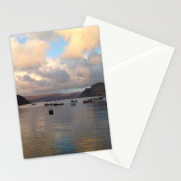 Portree Harbour Stationery Cards
