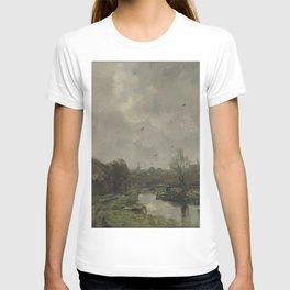 Jacob Maris - Landschap in de omgeving van Den Haag T-shirt