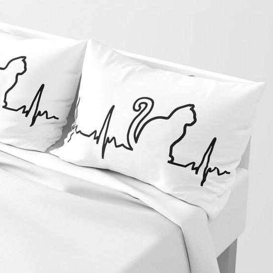 Cat Heartbeat by minimal88