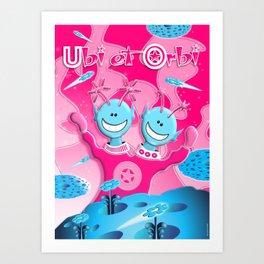 Ubi et Orbi Poster 1 Art Print