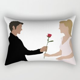 """You Look..."" ""I Know."" Rectangular Pillow"