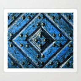 artifact wooden door Art Print