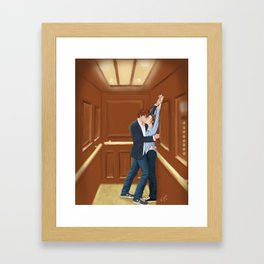 what is it about elevators? Framed Art Print