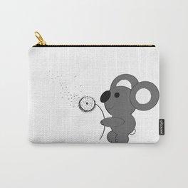 "Baby Koala Making Dandelion ""Wishies"" Carry-All Pouch"