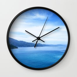 Cruise Blue Wall Clock
