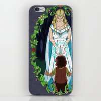valar morghulis iPhone & iPod Skins featuring The Light of Eärendil by Theresa Lammon