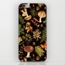 Vintage & Shabby Chic - Autumn Harvest Black iPhone Skin
