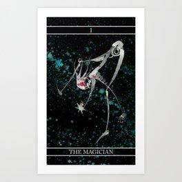 A Tarot of Ink Major Arcana I The Magician Art Print